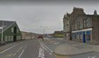 Commercial Street in Lerwick.