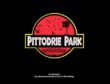 The Pittodrie Park cover based on the Jurassic Park movie poster.