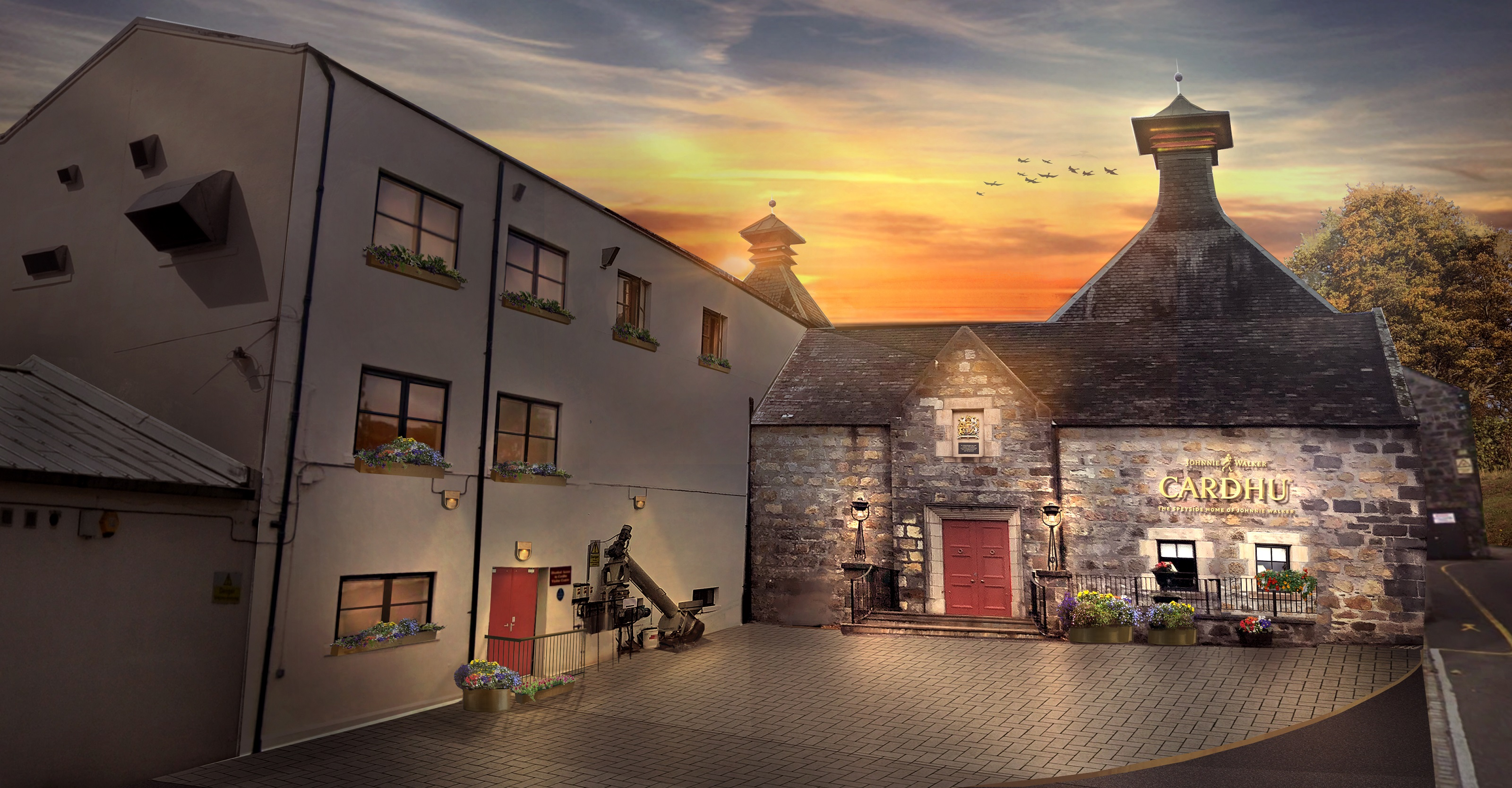 How the Speyside distillery will look