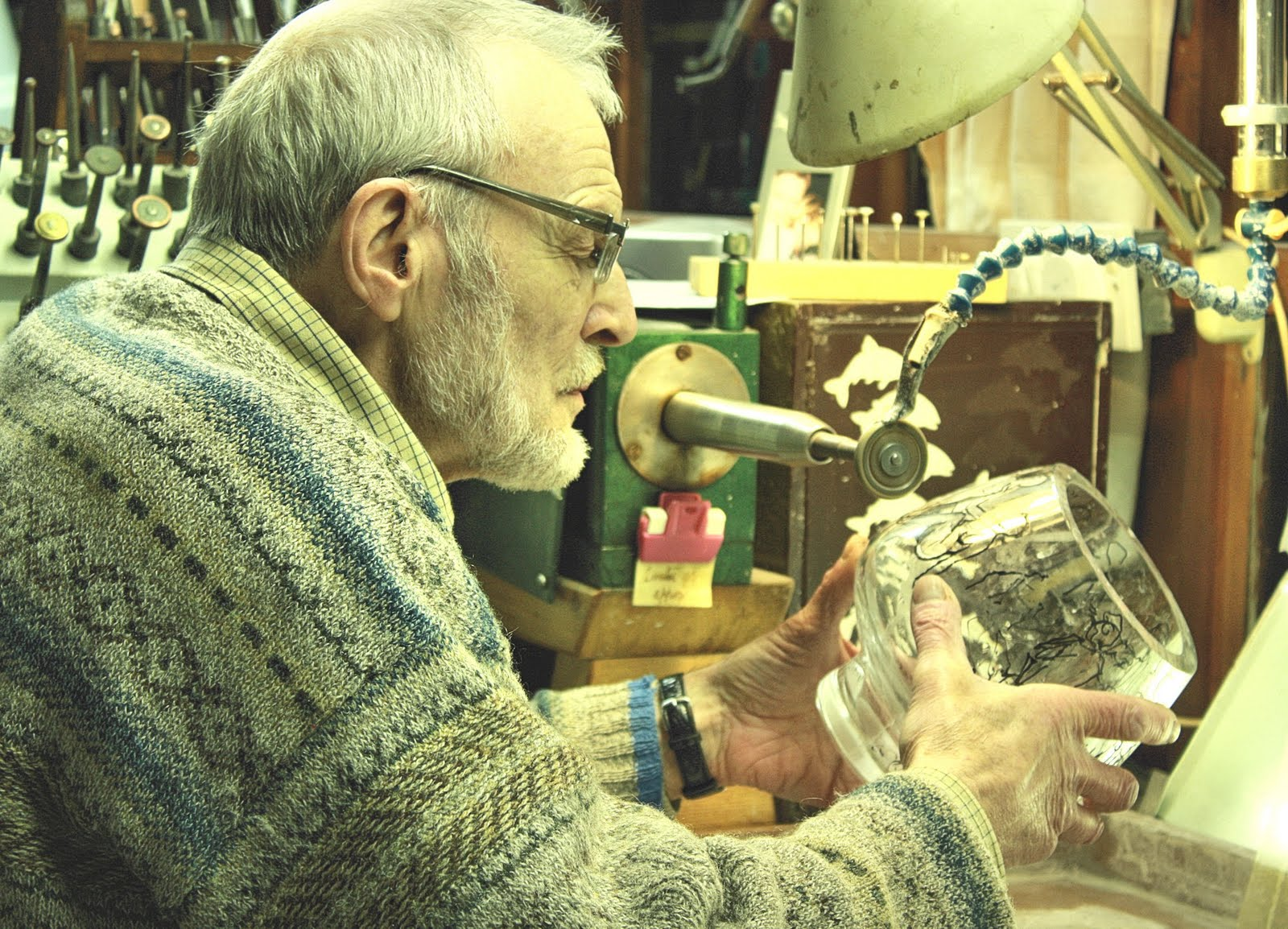 Denis Mann has engraved the coveted Mastermind trophy since 1971, recently etching his 48th engravement onto the famed award