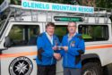 Donnie MacDonald, left, is handing the reigns as team leader to Ronnie MacDonald, right, after 21 years of service