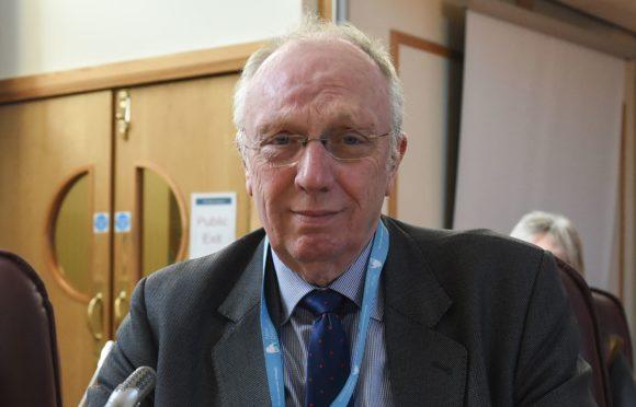 Elgin City North councillor Frank Brown.
