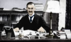 Neville Chamberlain (1869-1940), British prime minister, c1930s (1936). Following his election to parliament in 1918, Chamberlain served as postmaster general (1922-23), minister of health (1923, 1924-29, and 1931), and chancellor of the Exchequer (1923-24 and 1931-37) before he succeeded Stanley Baldwin as prime minister. His policy of appeasement toward Adolf Hitlers Germany culminated in the Munich Pact of September 1938, after which Chamberlain returned home proclaiming peace for our time. Later he recognized the failure of his policy and vowed support for Poland. After Germanys invasion of that country, Chamberlain led Britain into the war against the aggressor. He was forced to resign in May 1940 and was succeeded by Sir Winston Churchill. He served in Churchills cabinet as lord president of the council until October 1940, when illness forced his resignation. He died the following month. From His Majesty the King, 1910-1935, introduction by HW Wilson (Associated Newspapers Ltd, London, 1936). (Colorised black and white print). Artist Unknown. (Photo by The Print Collector/Getty Images)