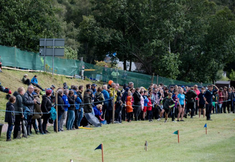 Crowds at Glenfinnan games