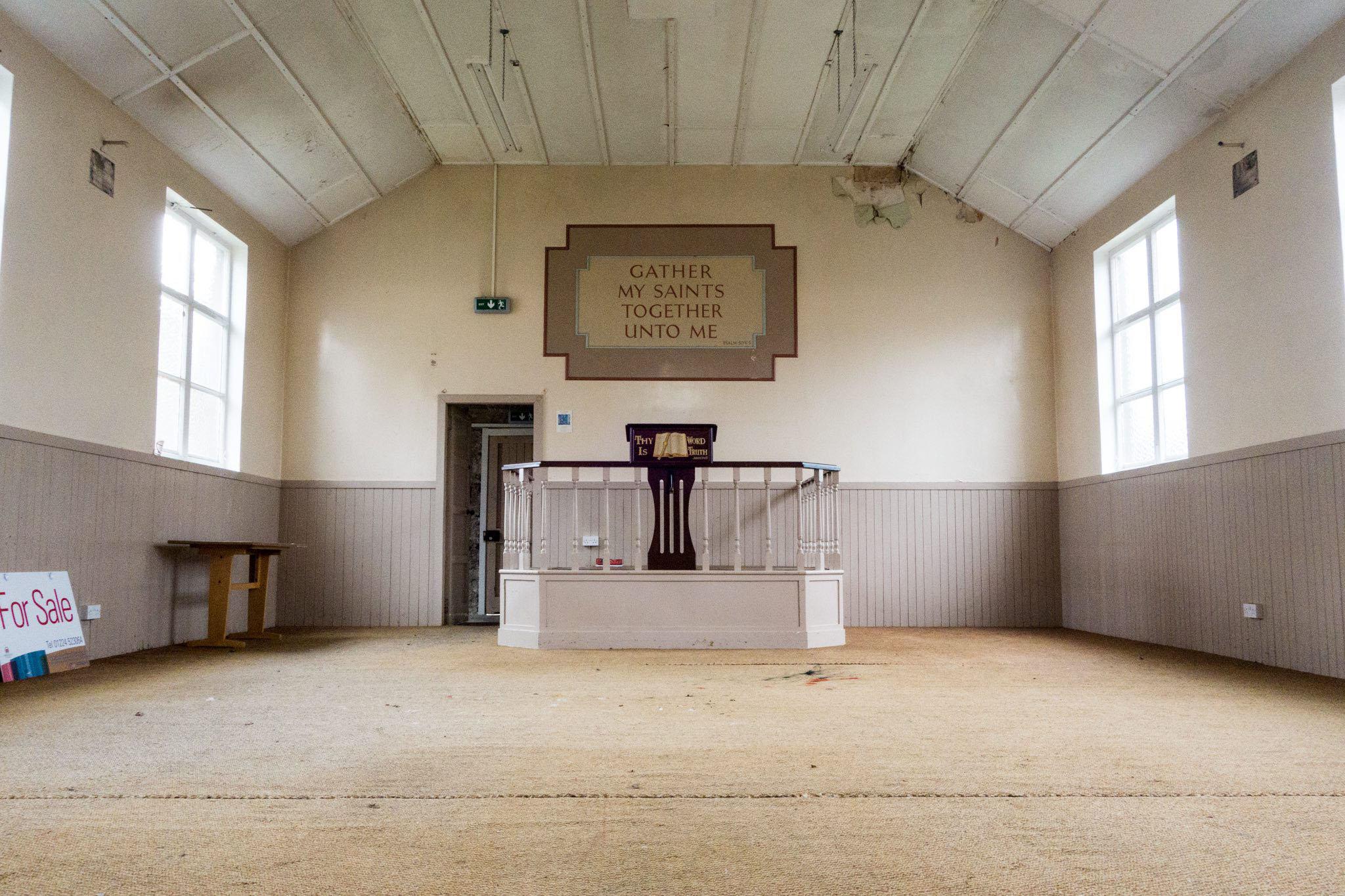 Fittie Trust Gospel hall before photos 2/7/17