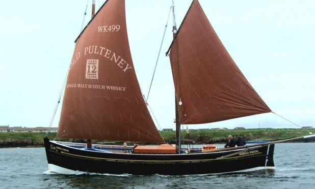 The vessels will be led by 129-year-old Wick-based fifie The Isabella Fortuna.