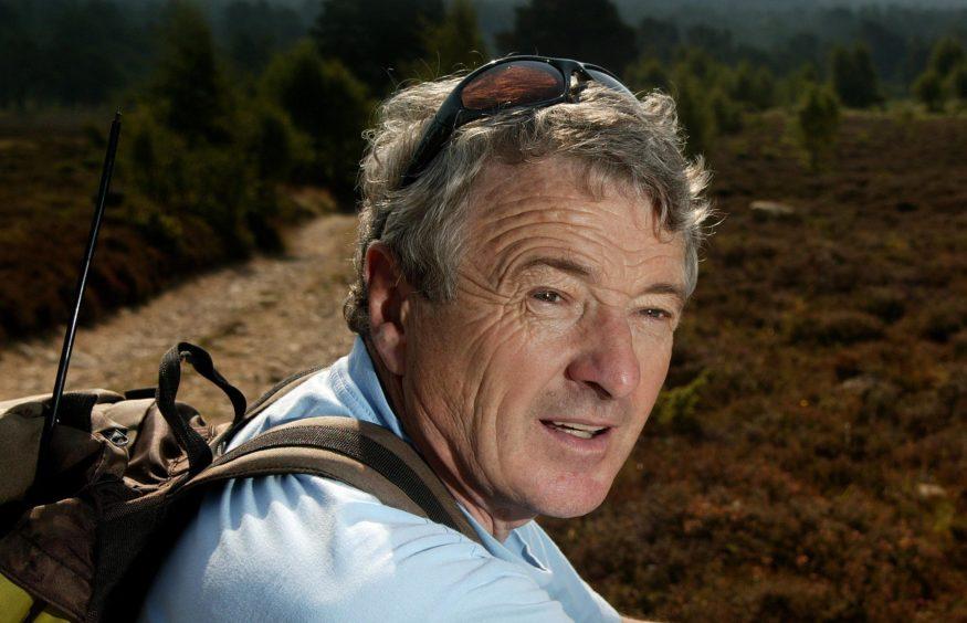 Former leader of the Cairngorm Rescue team, John Allen