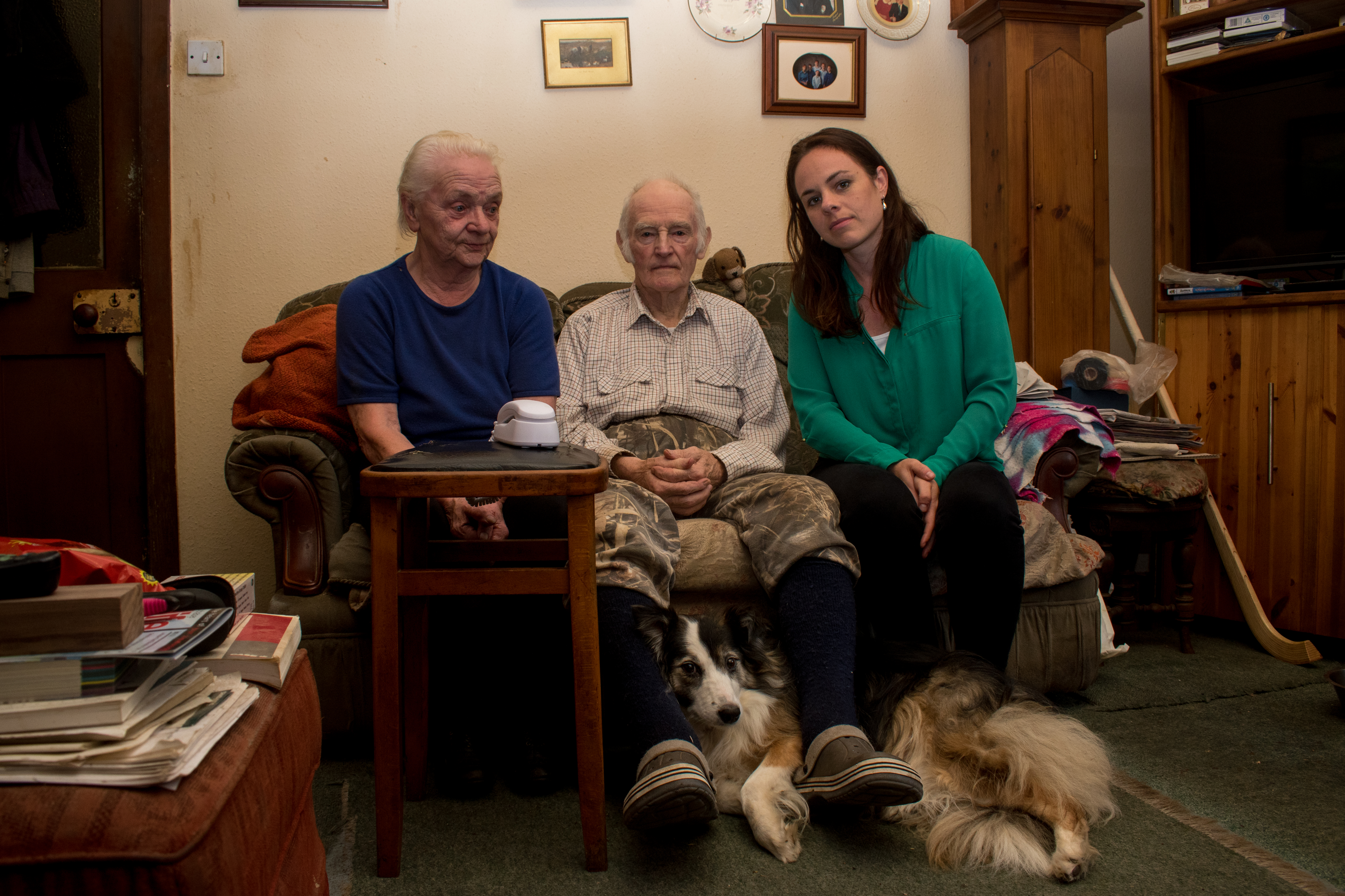 John and Mabel Sloggie have had their phone line restored after more than two months without service after raising concerns with Kate Forbes MSP