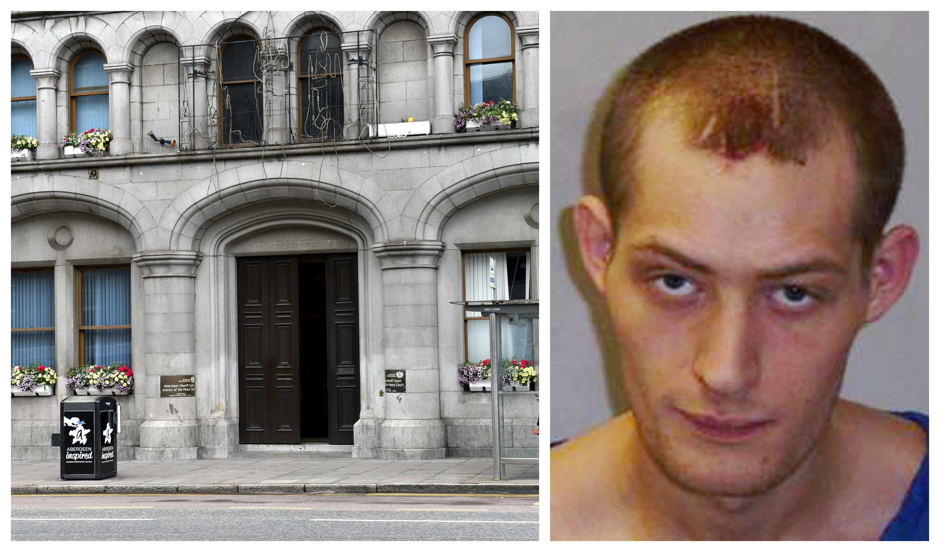 Lee Hipson appeared at Aberdeen Sheriff Court.