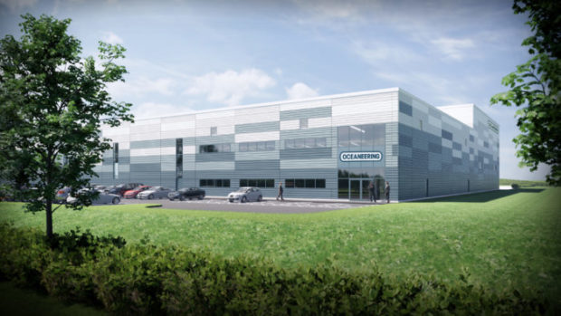 Oceaneering is moving office staff to Aberdeen Business Park in Dyce, and creating a new workshop and yard nearby