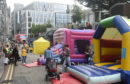 The Big Bounce event outside Bon Accord Centre, Schoolhill, Aberdeen Picture by Darrell Benns