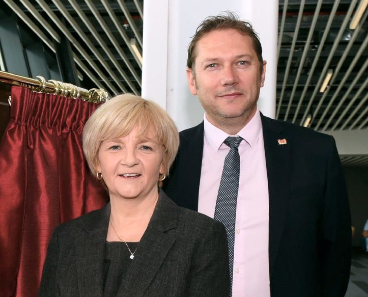 Jenny Laing and Douglas Lumsden