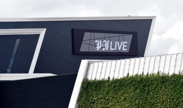 The P&;J Live in Aberdeen.