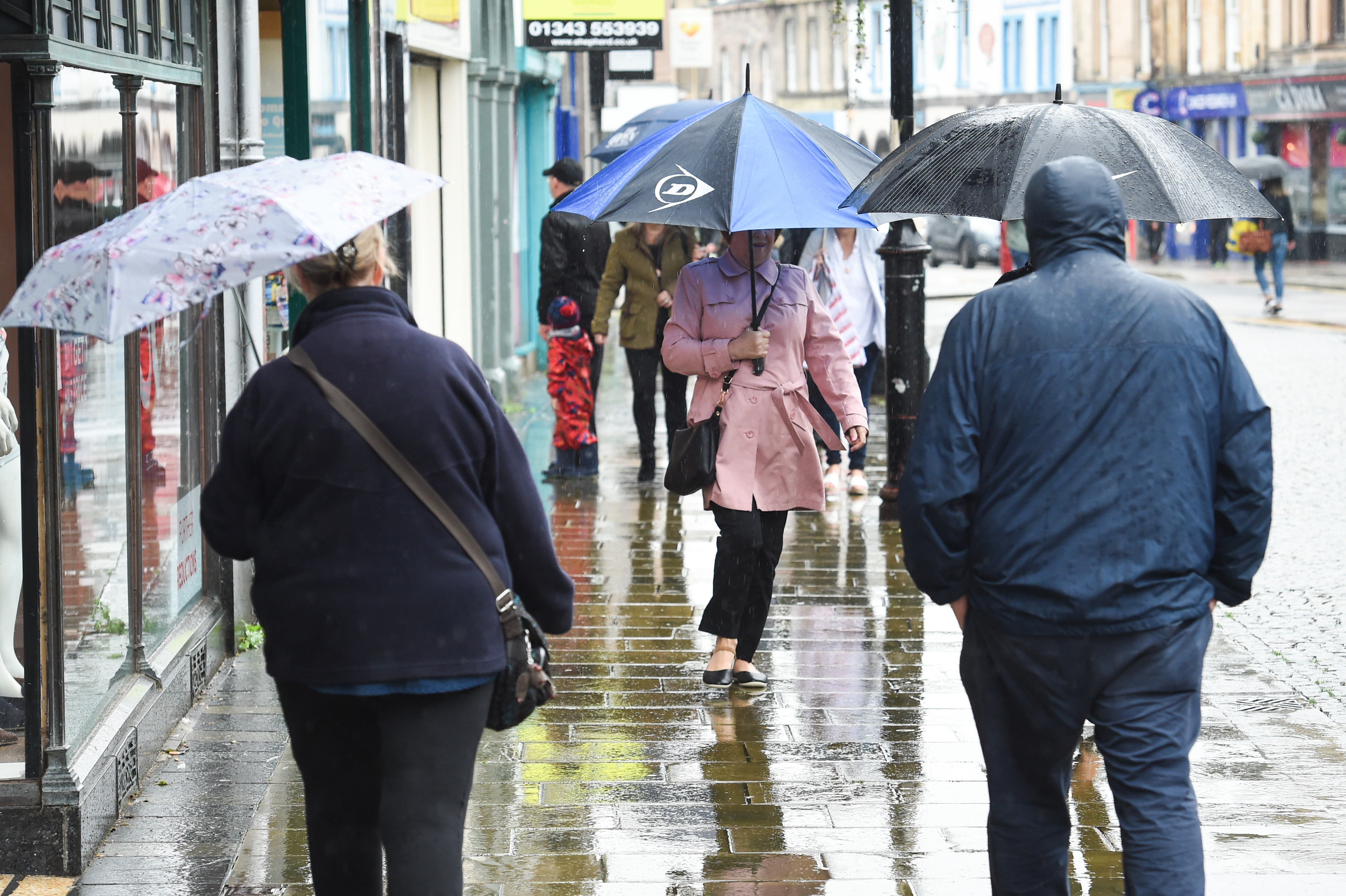 The north and north-east face yet more heavy rain over the weekend.