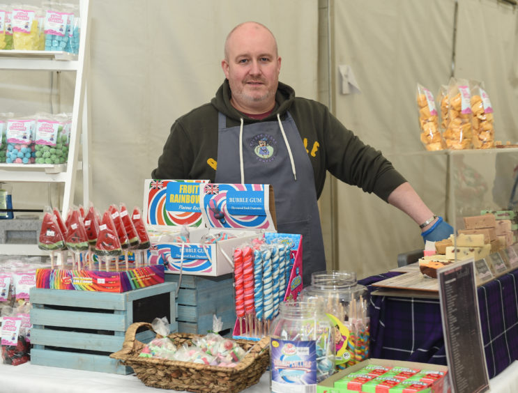 Chris Lewis from Jolted Fudge Company Limited