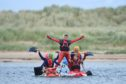 The 42nd Lossiemouth Raft Race drew huge crowds. Pictures by JASON HEDGES