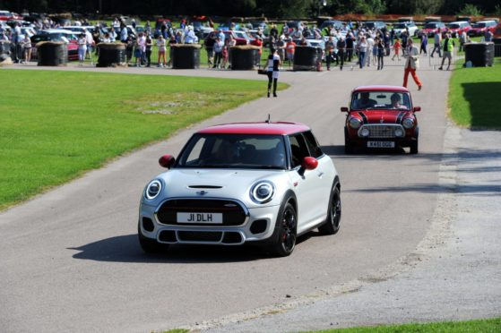 """The Grampian Transport Museum's """"60 years of the Mini"""" celebration.  Pictures by Kenny Elrick"""