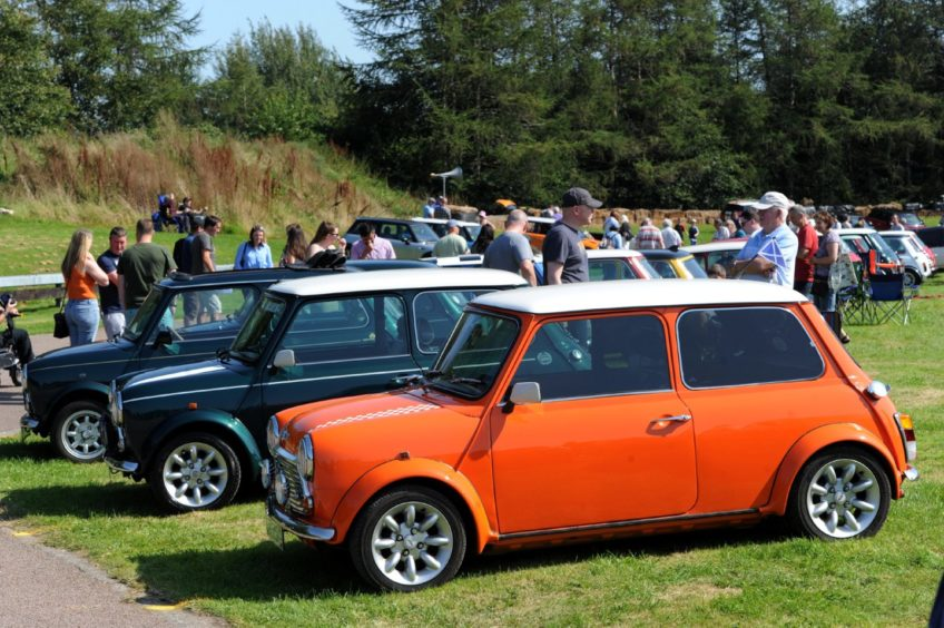 """The Grampian Transport Museum's """"60 years of the Mini"""" celebration.  Picture by KENNY ELRICK"""