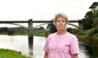 Anne Shearer, who has been leading a local campaign to get Park Bridge reopened.