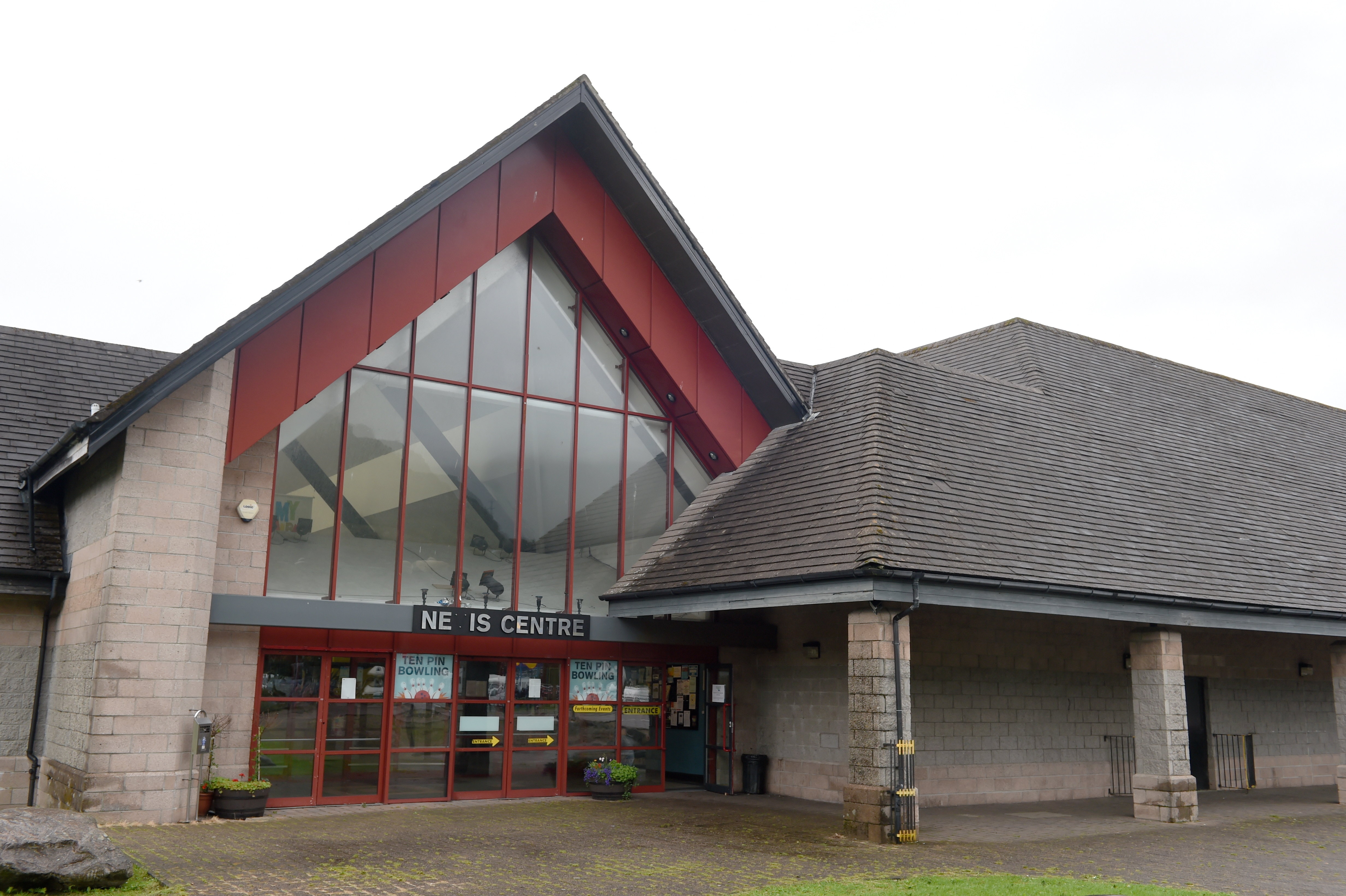 The Nevis Centre in Fort William. Picture by Sandy McCook