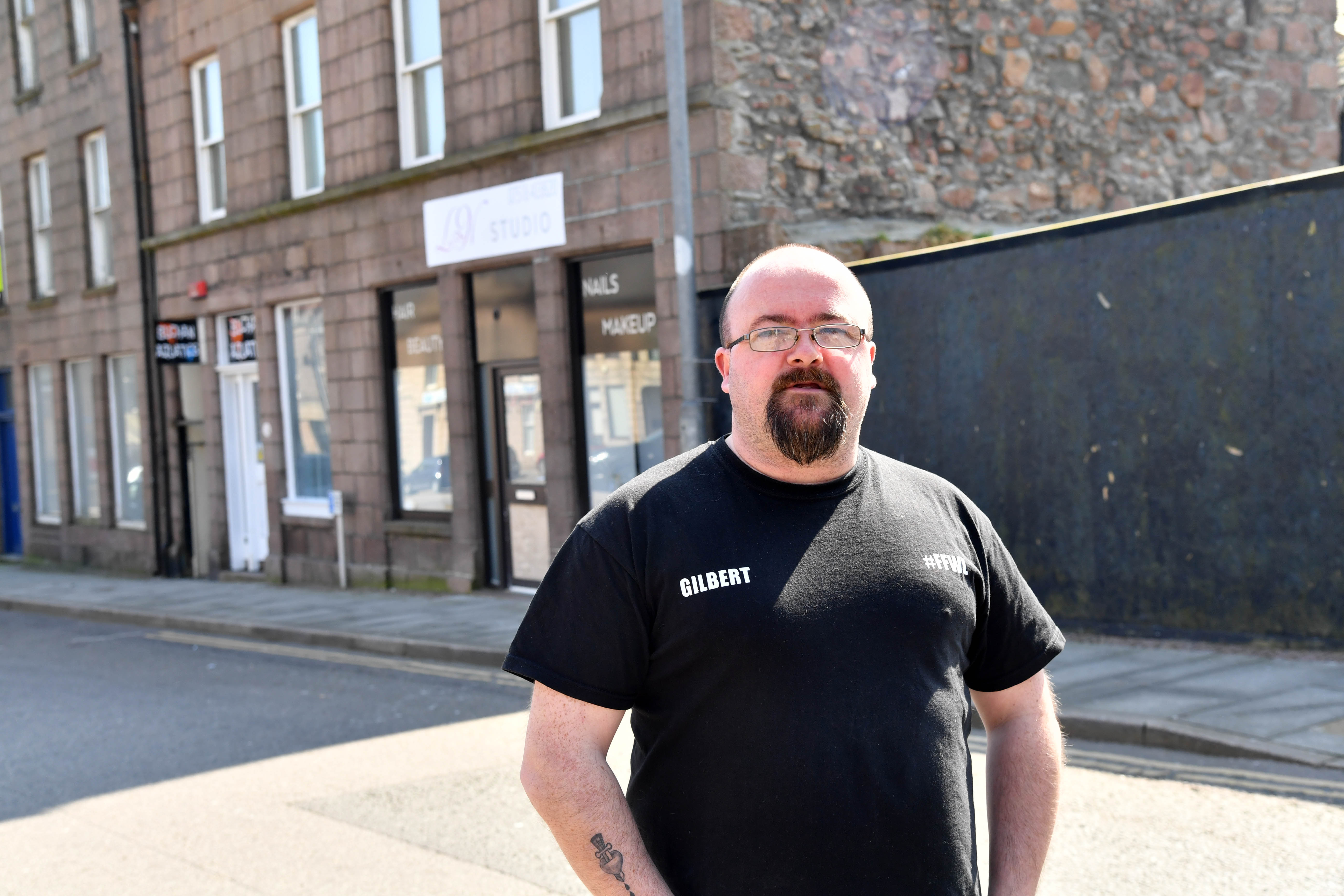 Peterhead businessman Gilbert Burnett.