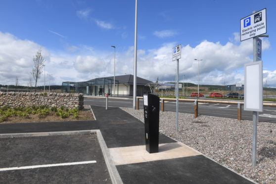 The Park and Ride facility at Craibstone