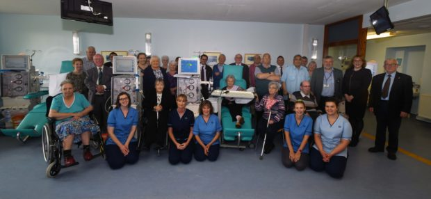 NHS Western Isles has taken ownership of the two new stations, which will compliment their 7 new units as part of their £100k overhaul