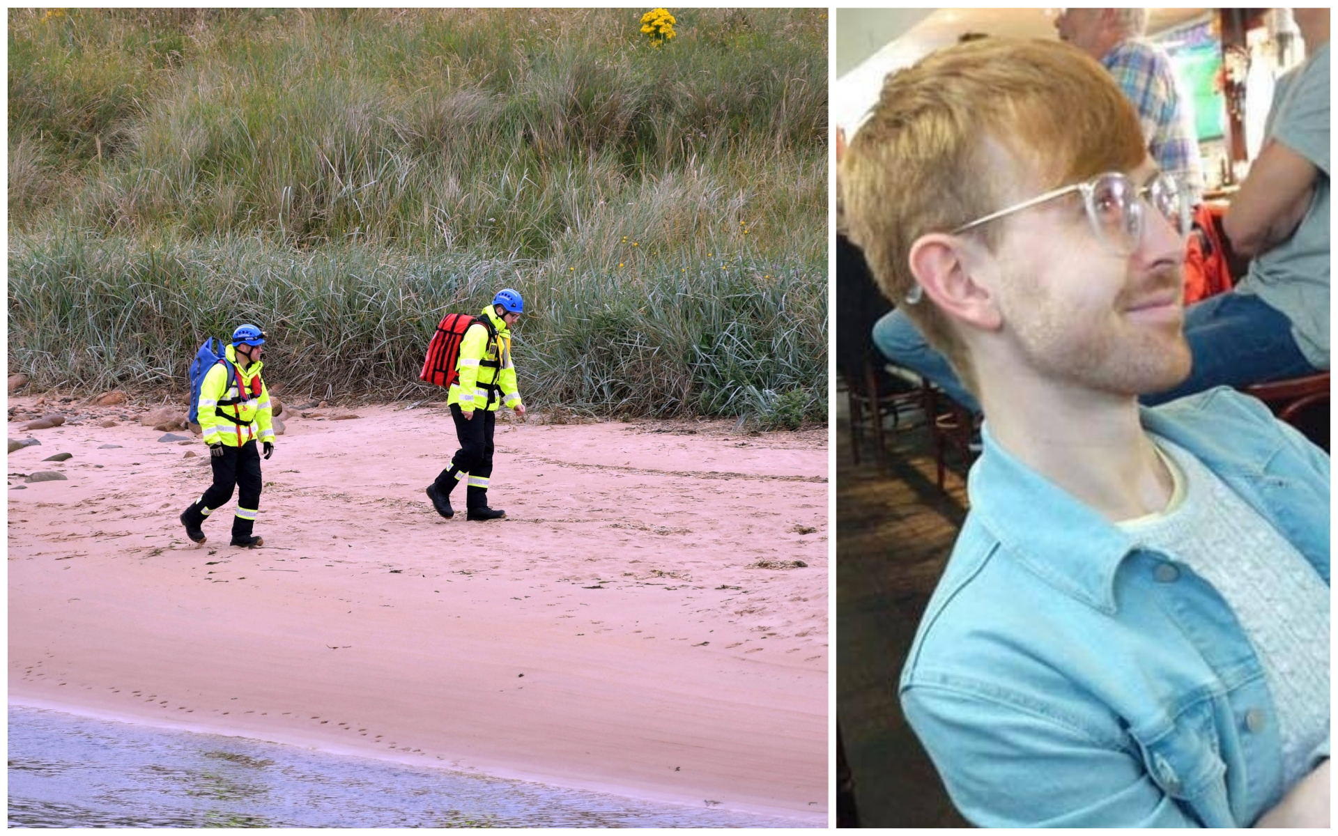 A Coastguard team has been helping in the search for Ruairidh Sandison.