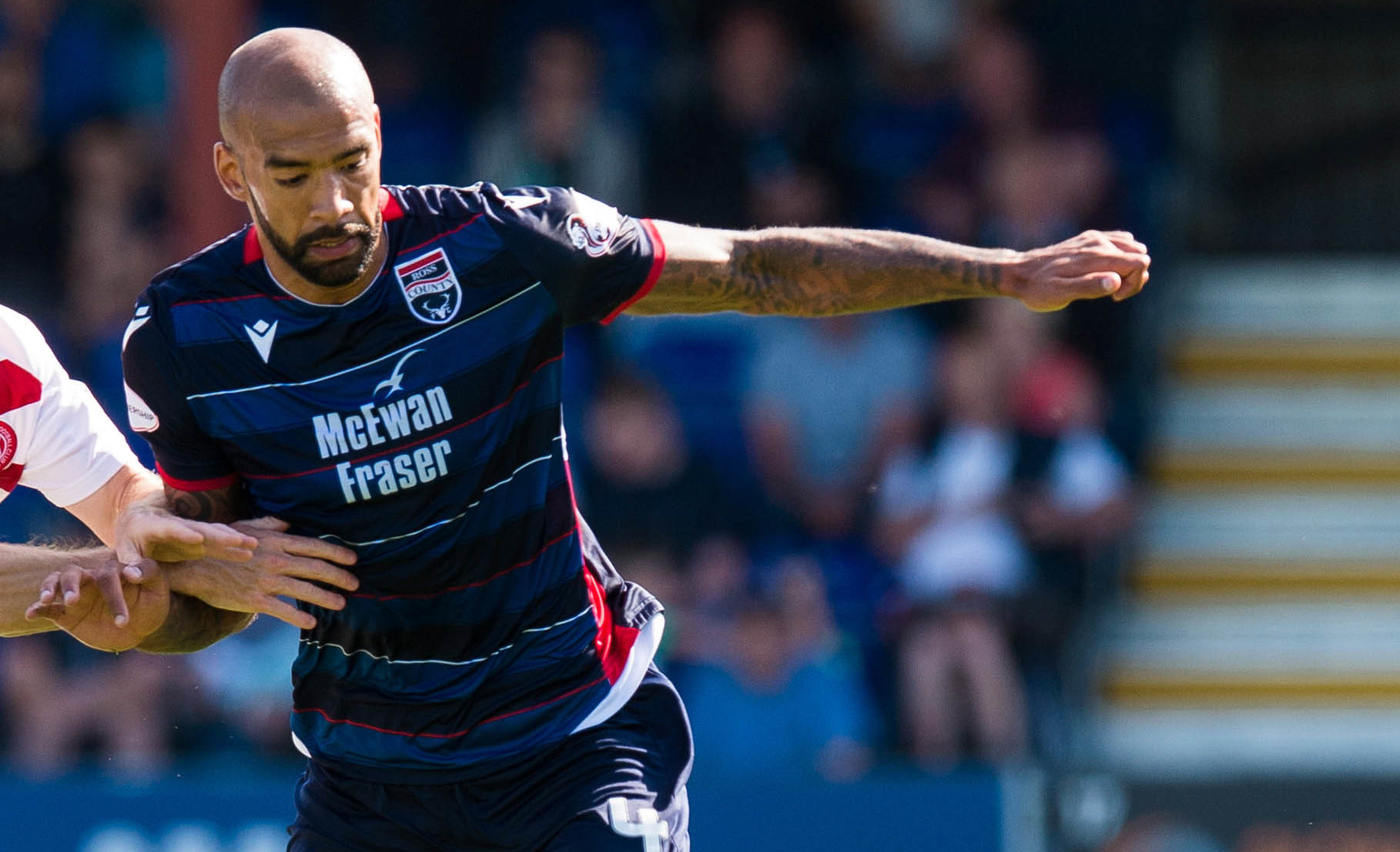 Ross County's Liam Fontaine.