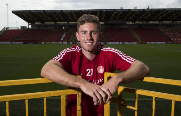 Aberdeen's Jon Gallagher.