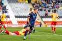17/08/19 BETFRED CUP SECOND ROUND PARTICK THISTLE v ROSS COUNTY THE ENERGY CHECK STADIUM - GLASGOW Ross County's Harry Paton celebrates making it 2-2