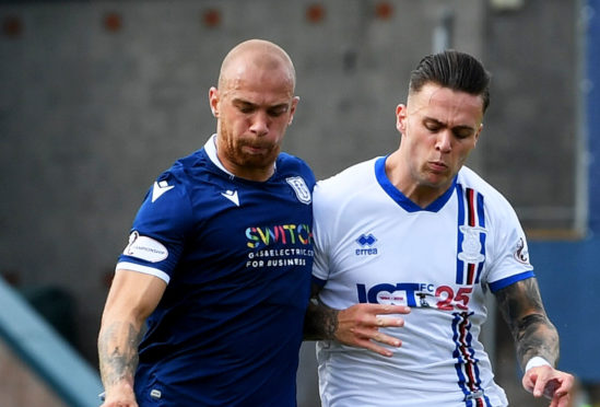 Miles Storey was back in the starting line-up for Caley Thistle.