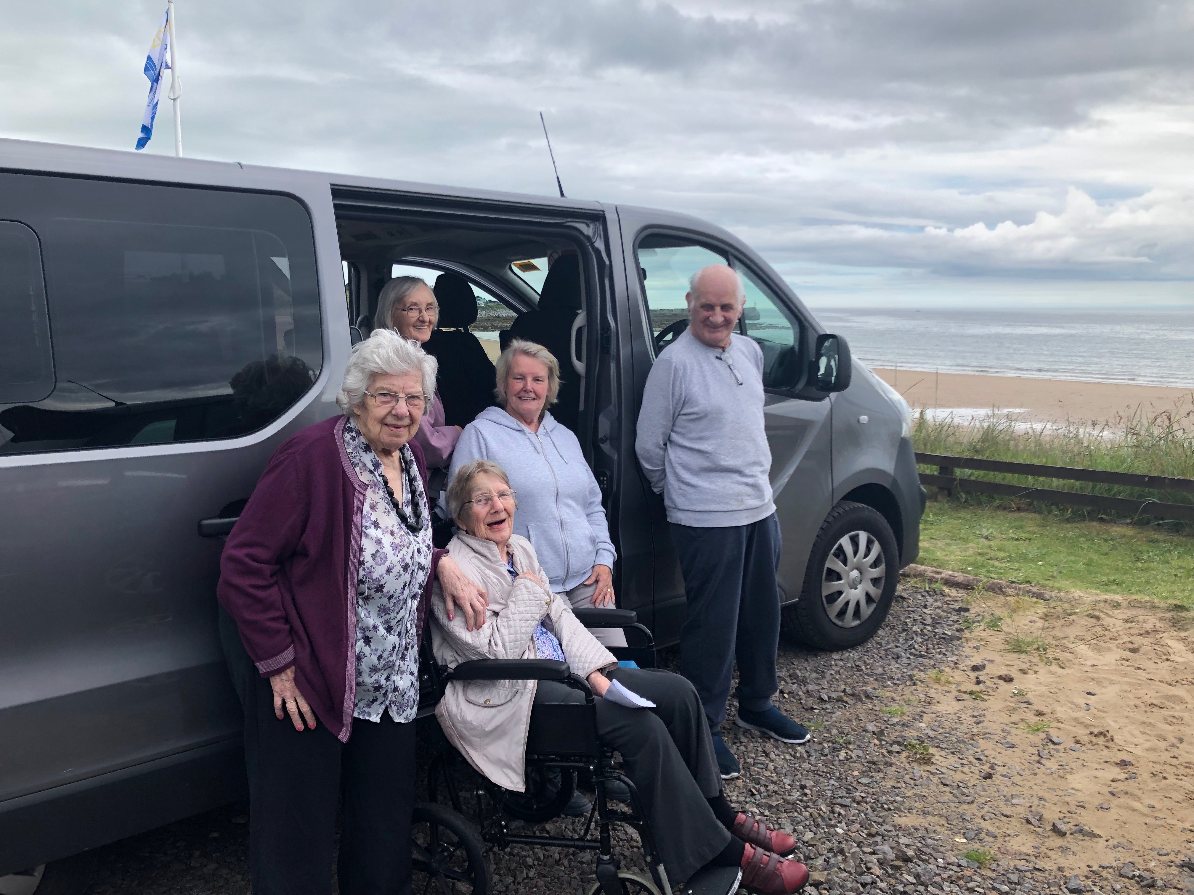 A brand new minibus has allowed residents to get out and about oncemore