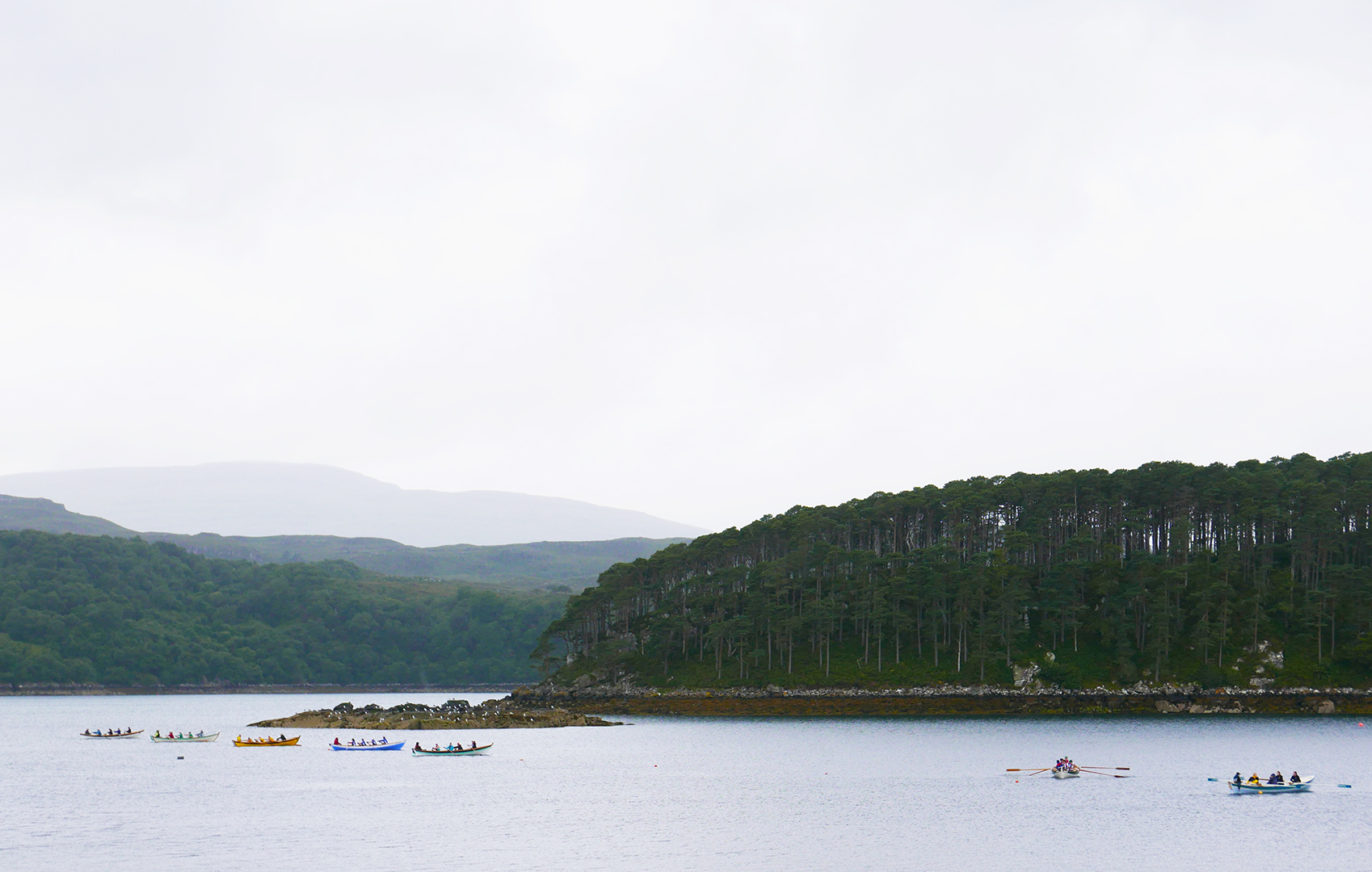 Shieldaig Coastal Rowing Regatta is to take place again this coming Saturday