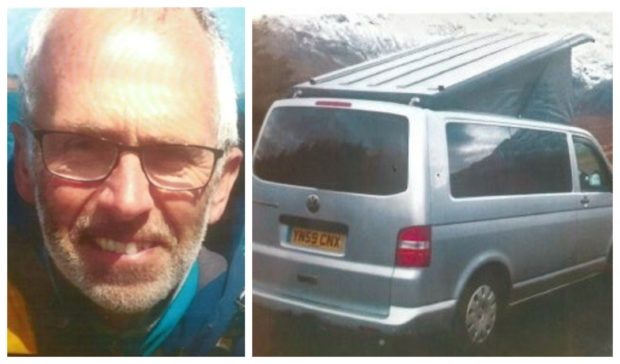 It is believed Ian Mills may have travelled to the Cairngorms
