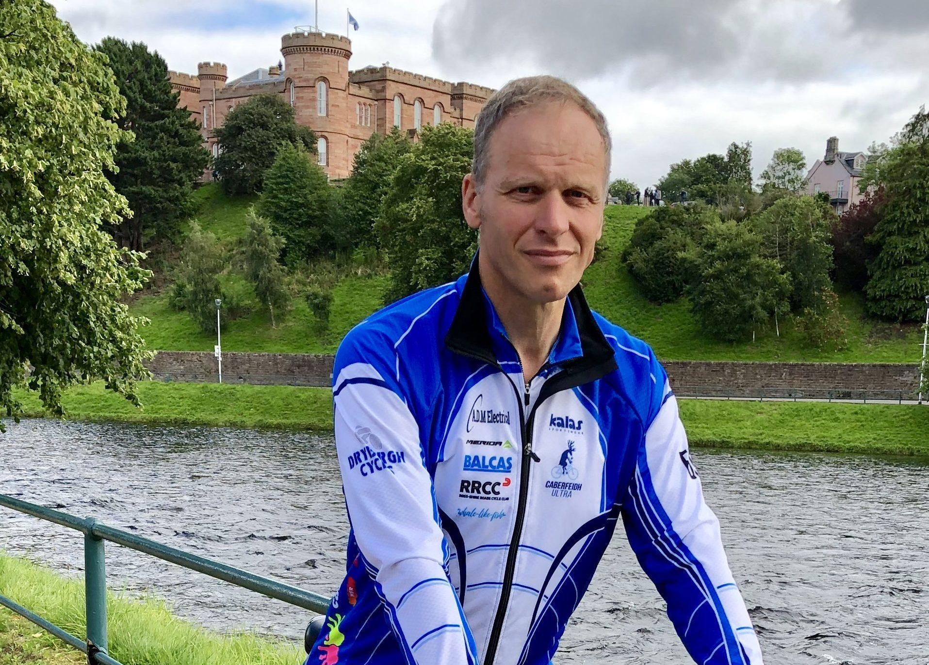 William MacLennan ahead of the grueling Race Around Ireland