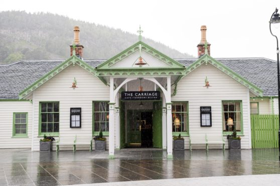 The Old Railway Station in Ballater