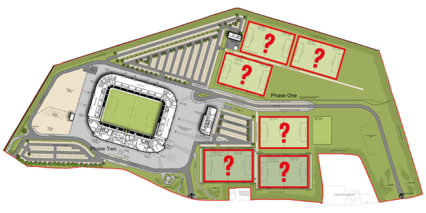 The six training pitches at Kingsford will be named after Dons hall of fame members.