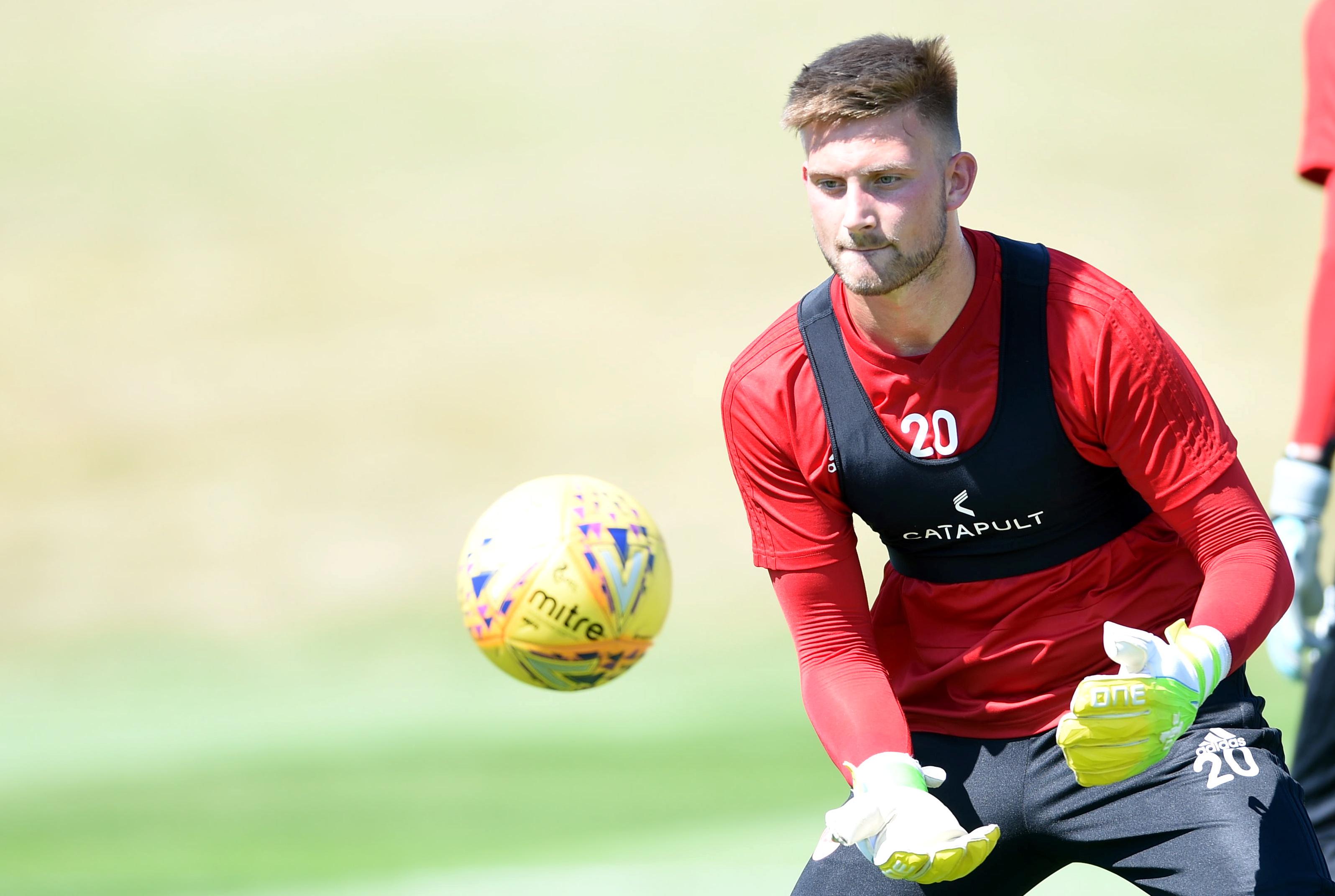 Ex-Aberdeen goalkeeper Danny Rogers.