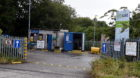 Dyce recycling centre, Pitmedden Road.