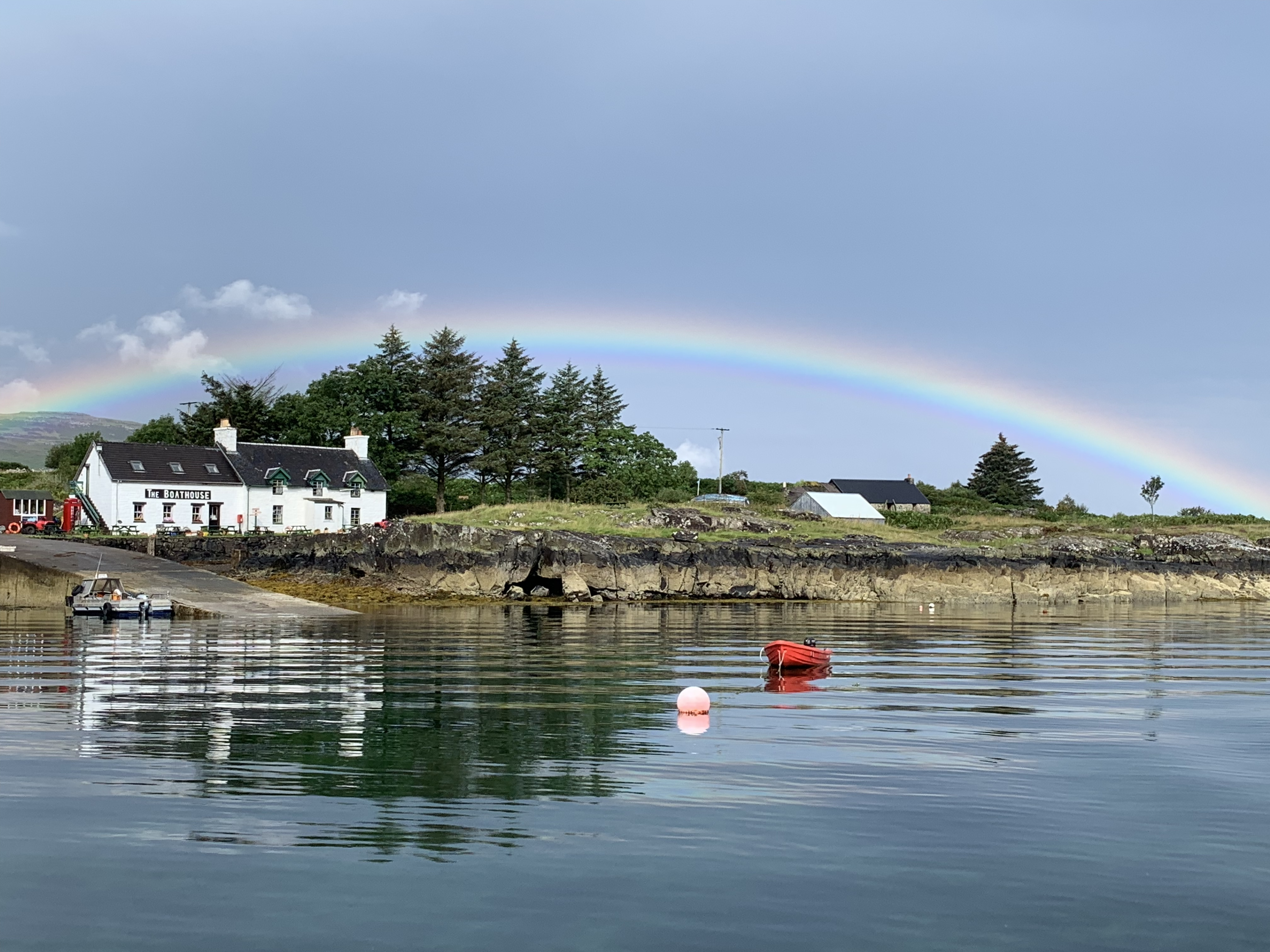 The house in Ulva