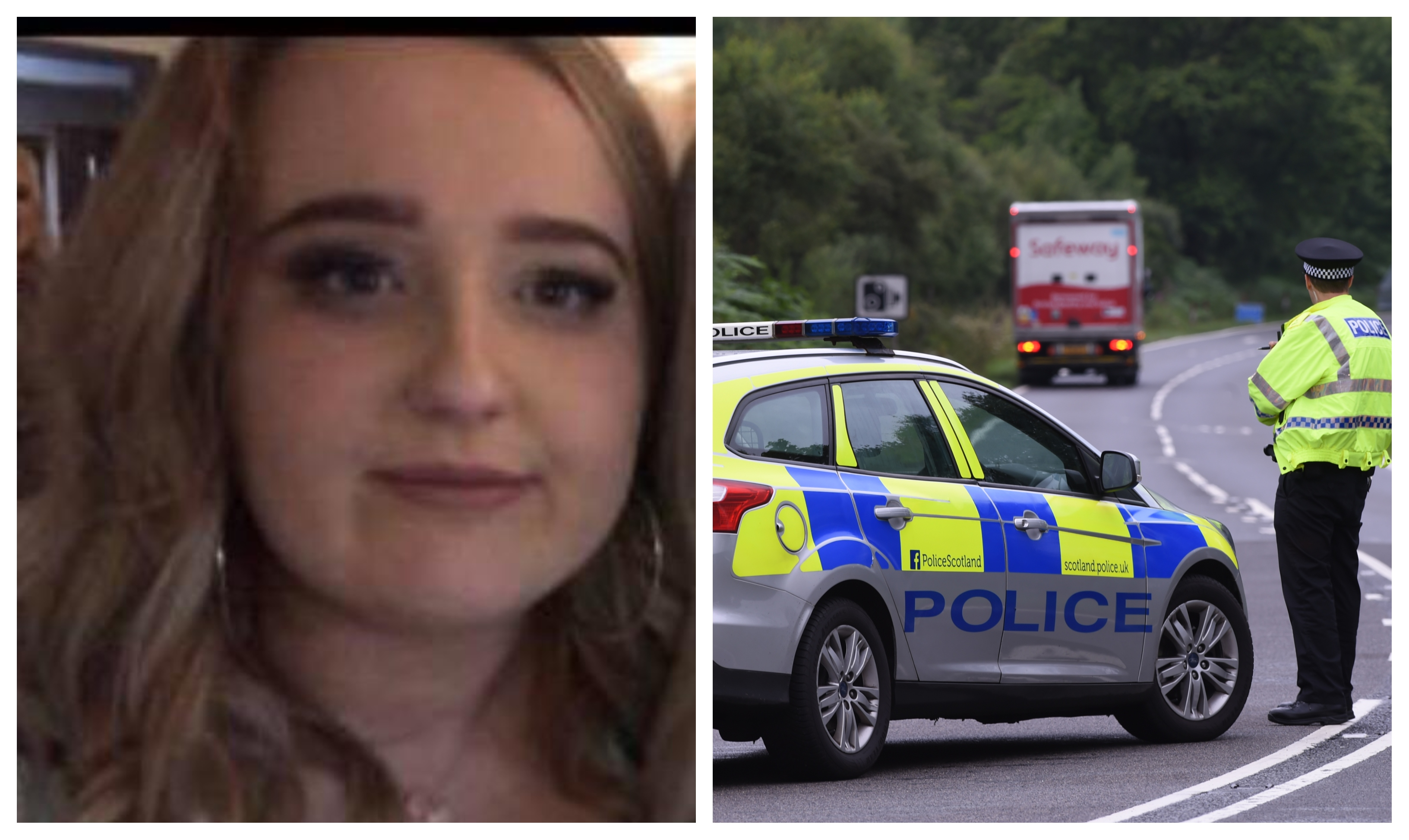 Megan Whitehead, 20, was from the Helmsdale area.