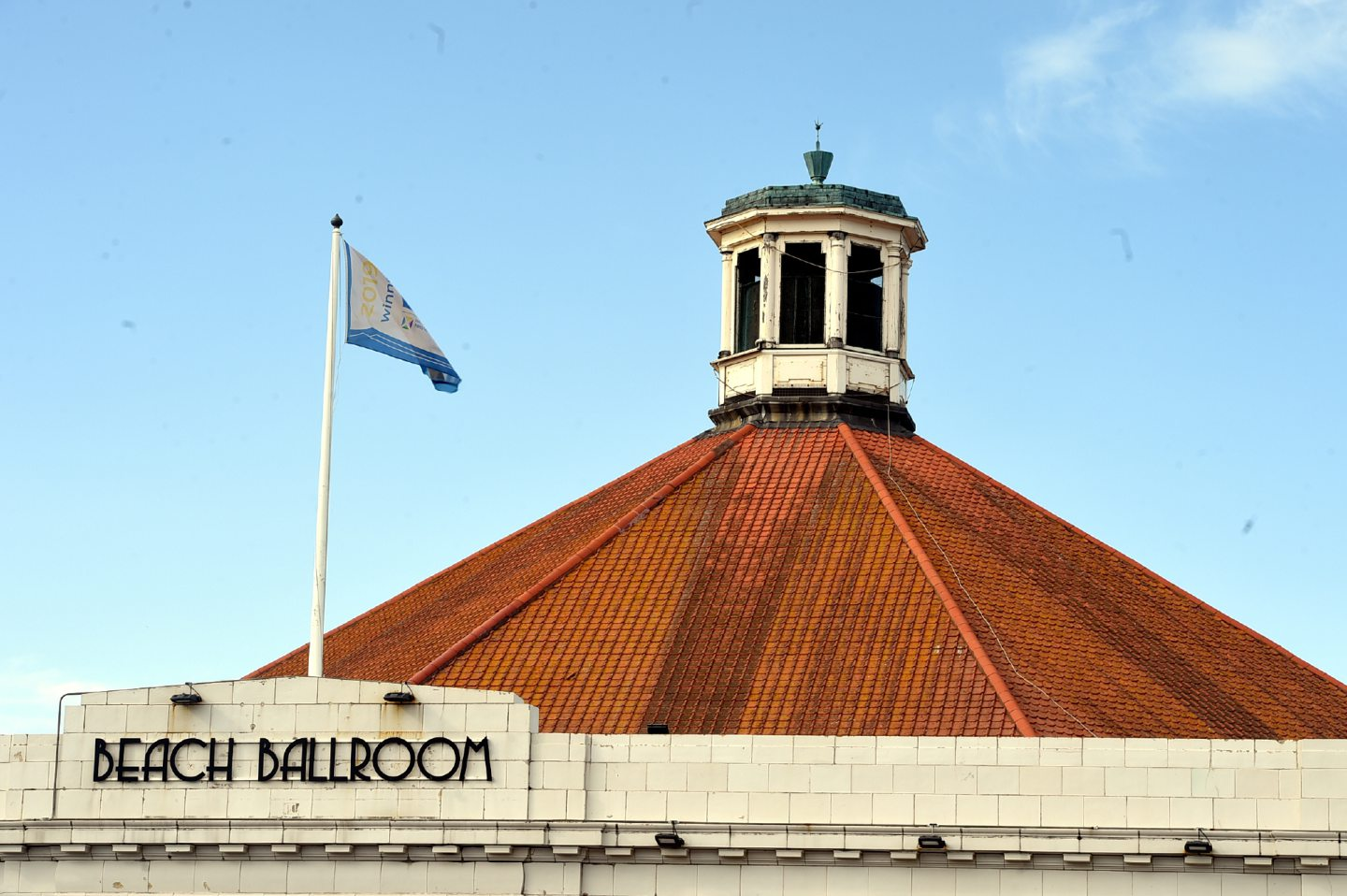 The roof of the Beach Ballroom.