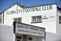 Elgin City's football stadium at Borough Briggs.