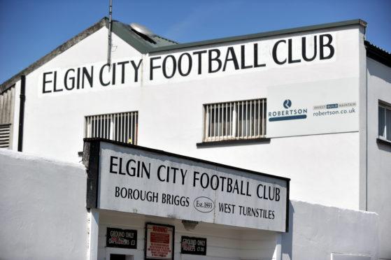 Elgin City's stadium Borough Briggs.