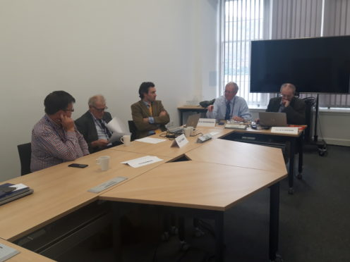 Lochaber Area Committee held a heated debate.