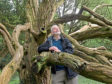 Alan Cameron is a volunteer at  Ellon castle and gardens.  Picture by KATH FLANNERY
