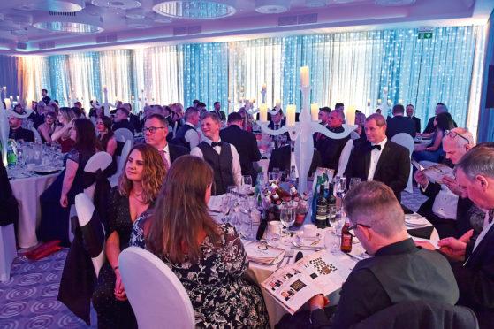 The Press and Journal - Energy Voice - Gold Awards,  held at the Chester hotel in Aberdeen. Picture by COLIN RENNIE