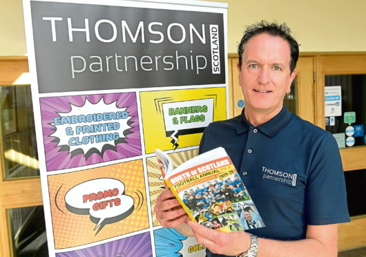 Billy Thomson, director of Thomson Partnership Scotland. Picture by Kath Flannery
