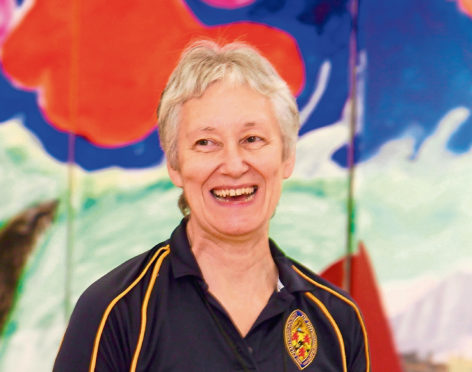 Margaret Gear, principal physiotherapist, Yasp, in Scalloway
